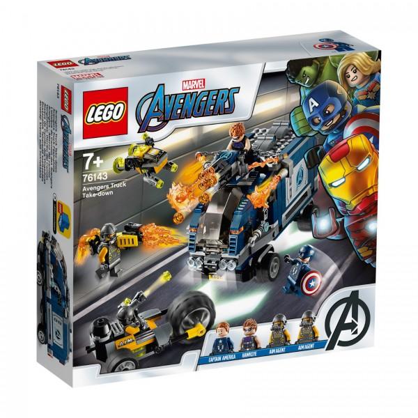 LEGO® Marvel Super Heroes™ 76143 Avengers Truck-Festnahme