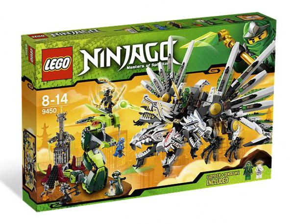 LEGO® Ninjago 9450 Rückkehr des vierköpfigen Drachens
