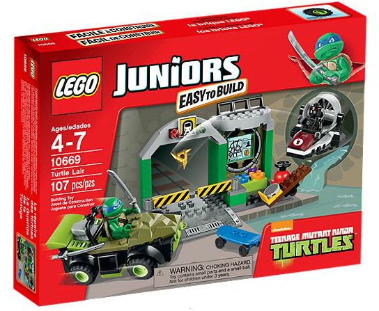 LEGO® Juniors 10669 Turtle Versteck
