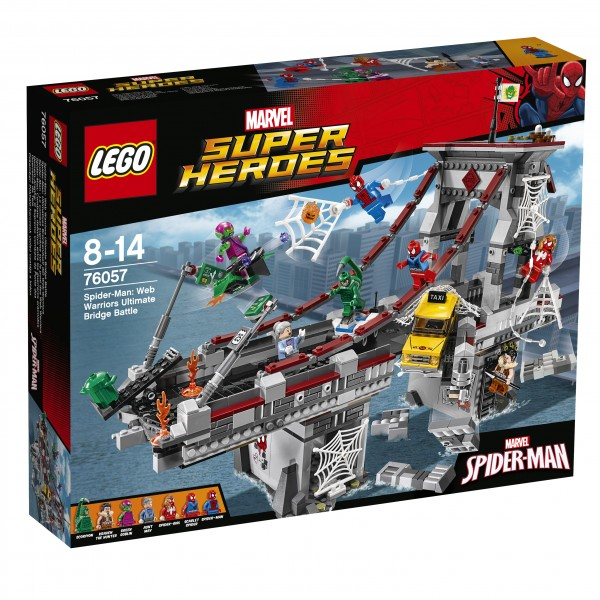 LEGO® Marvel Super Heroes 76057 Spider-Man: Ultimatives Brückenduell der Web-Warriors