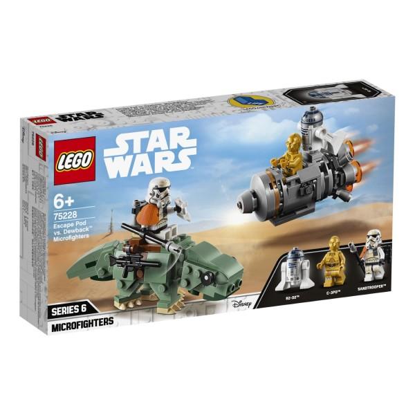 LEGO® Starwars 75228 Escape Pod vs. Dewback™ Microfighters