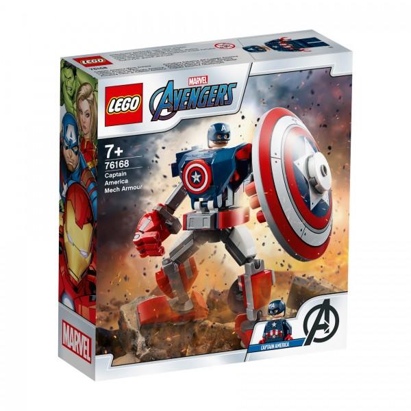 LEGO® Marvel Super Heroes™ 76168 Captain America Mech