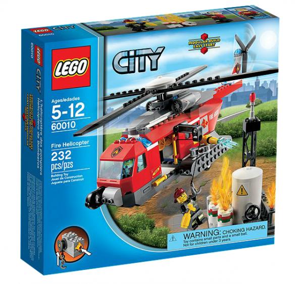 LEGO® CITY 60010 Feuerwehr-Helikopter