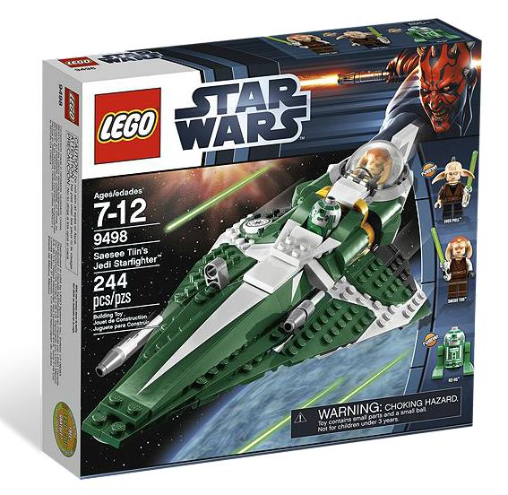 LEGO® Starwars 9498 Saesee Tiins Jedi Starfighter