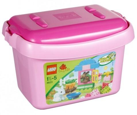 LEGO® DUPLO® 4623 Mädchen-Steinebox