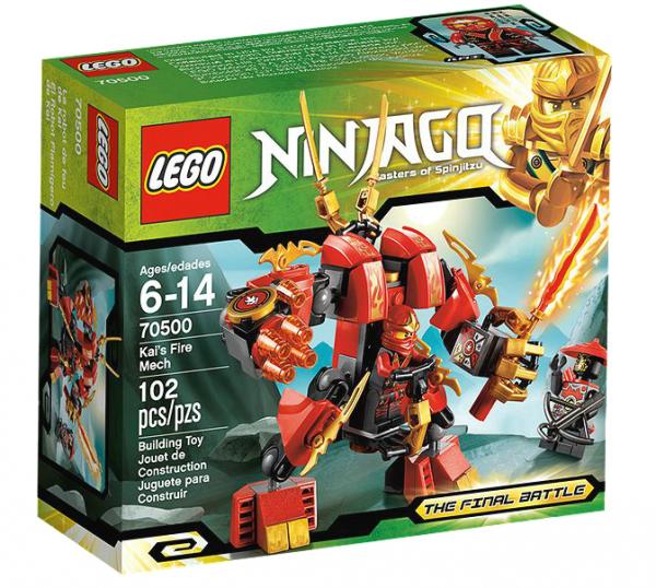 LEGO® Ninjago 70500 Kais Feuerroboter