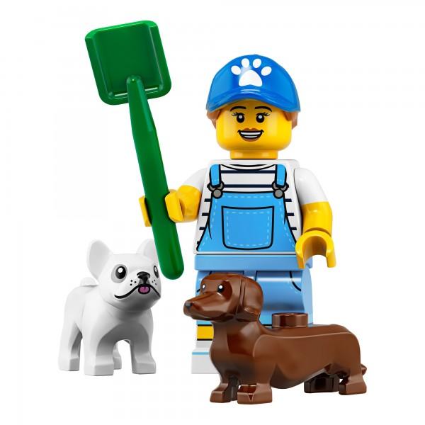 LEGO® Minifigur Serie 19 71025-09: Hundesitterin