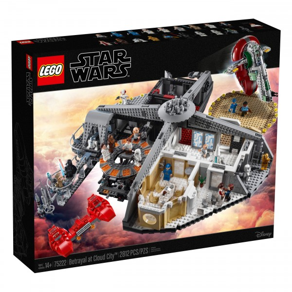 LEGO® Star Wars 75222 Verrat in Cloud City™