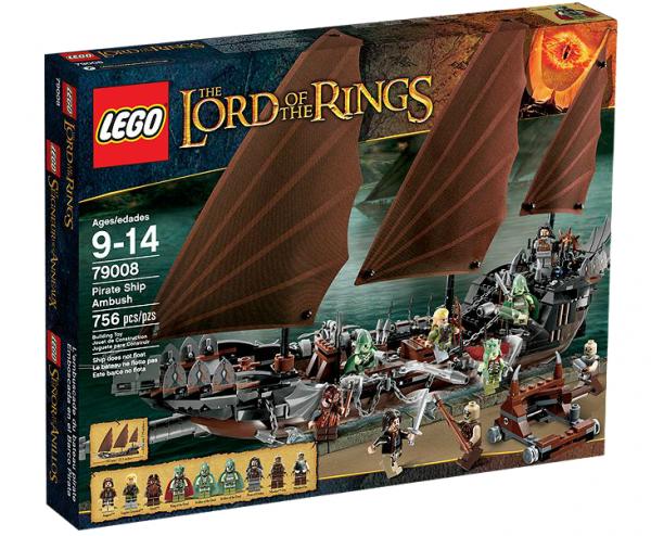 LEGO® Herr der Ringe 79008 Hinterhalt auf dem Piratenschiff