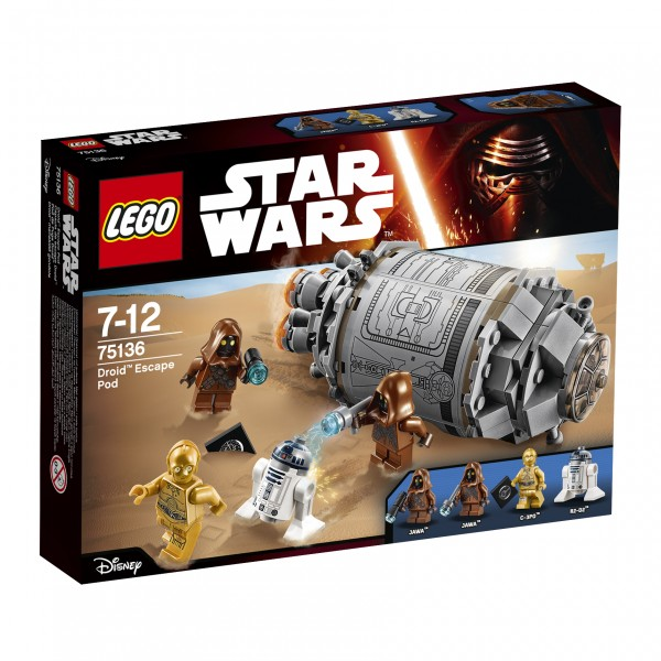 LEGO® Starwars 75136 Droid Escape Pod