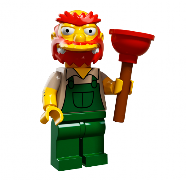 LEGO® The Simpsons Serie 2 - Hausmeister Willie 71009-13