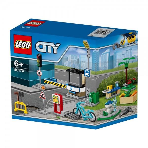 """LEGO® CITY 40170 Zubehörset """"Ich baue meine Stadt"""""""