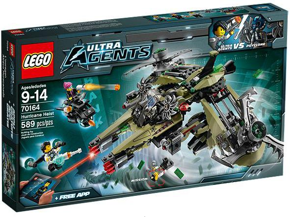 LEGO® Ultra Agents 70164 Hurrikan-Überfall