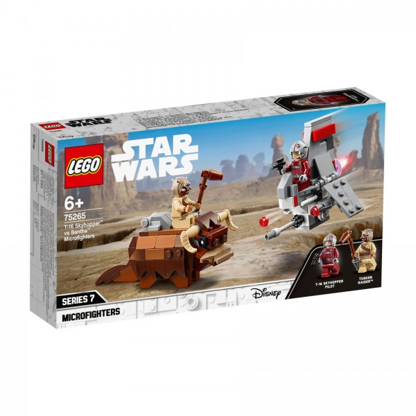 LEGO® Star Wars™ 75265 T-16 Skyhopper™ vs Bantha™ Microfighters