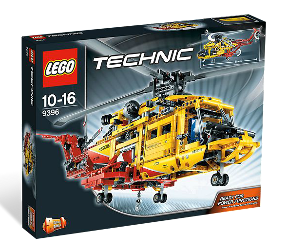 LEGO® Technic 9396 Großer Helikopter