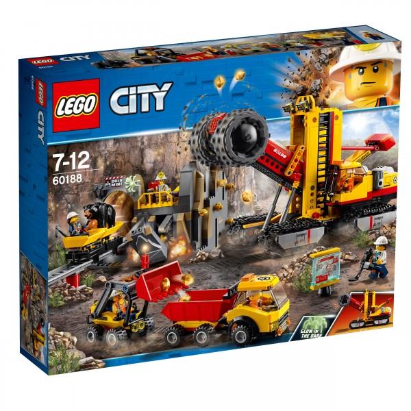LEGO® CITY 60188 Bergbauprofis an der Abbaustätte