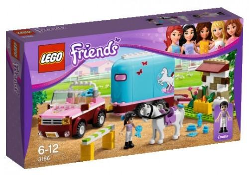 LEGO® Friends 3186 Geländewagen mit Pferdeanhänger