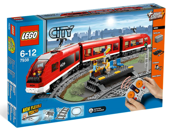 LEGO® CITY 7938 Passagierzug