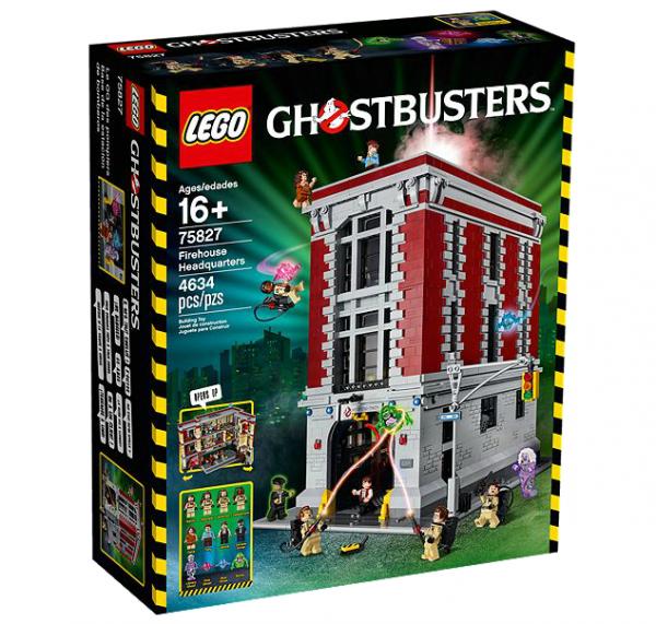 LEGO® 75827 Ghostbusters Feuerwehr Hauptquartier