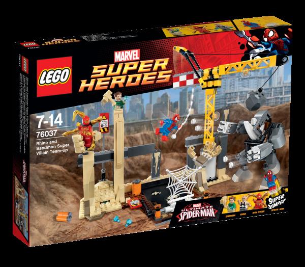 LEGO® Marvel Super Heroes 76037 Rhino und Sandman - Allianz der Superschurken