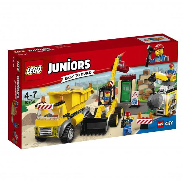 LEGO® Juniors 10734 Große Baustelle