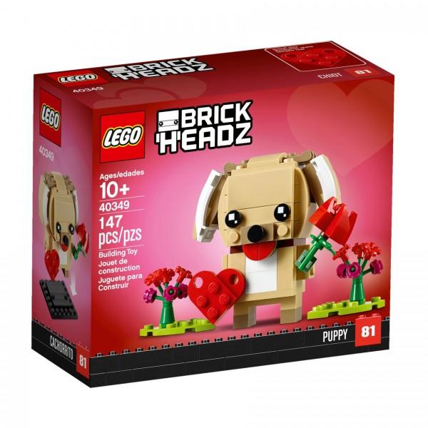 LEGO® BrickHeadz 40349 Valentinstag-Welpe