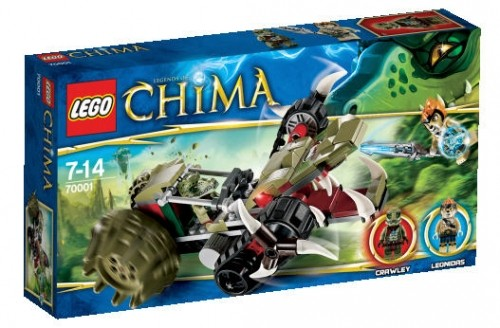 LEGO® Chima 70001 Crawleys Reptiliengreifer