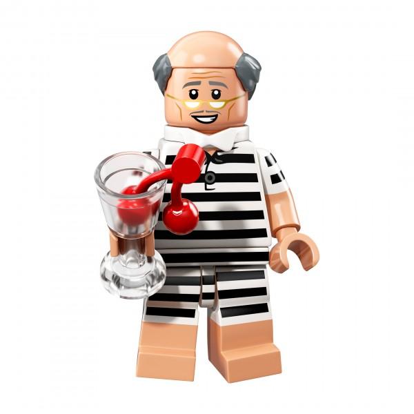 The LEGO® Batman Movie Minifigur Serie 2 - Ferien Alfred Pennyworth 71020-10
