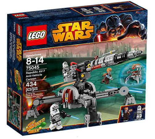 LEGO® Starwars 75045 Republic AV-7 Anti-Vehicle Cannon
