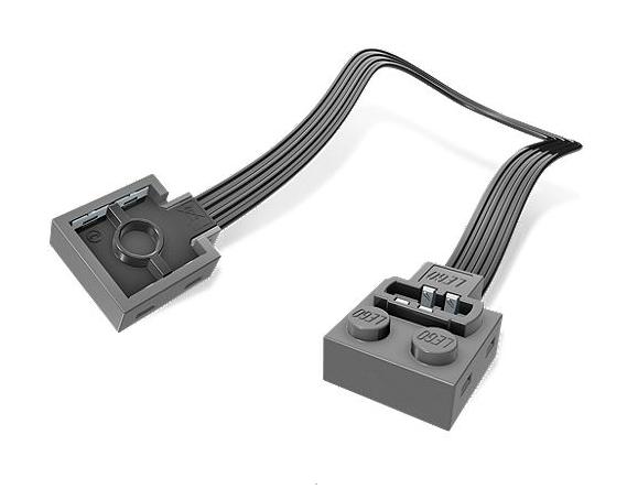 LEGO® 8886 Power Functions Verlängerungskabel (20cm)