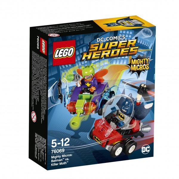 LEGO® DC Universe Super Heroes 76069 Mighty Micros: Batman vs. Killer Moth