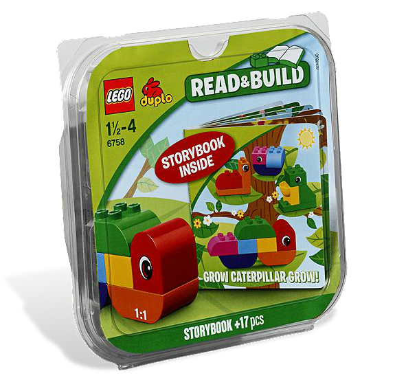 LEGO® 6758 Die Regenbogen-Raupe