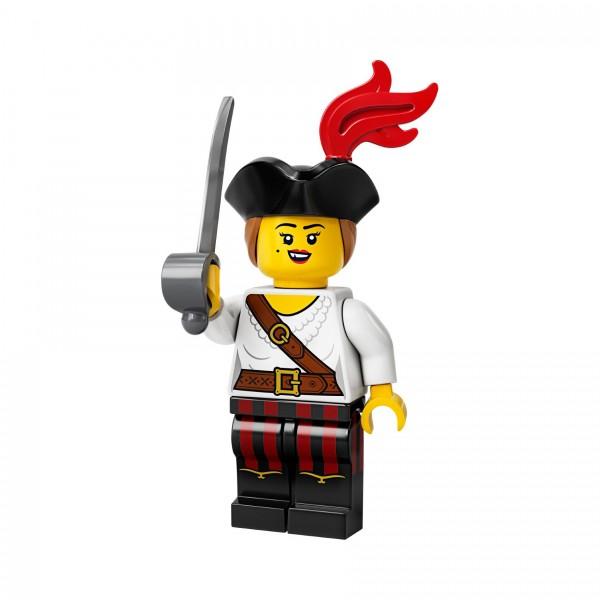 LEGO® Minifigur Serie 20 71027-05: Piratin