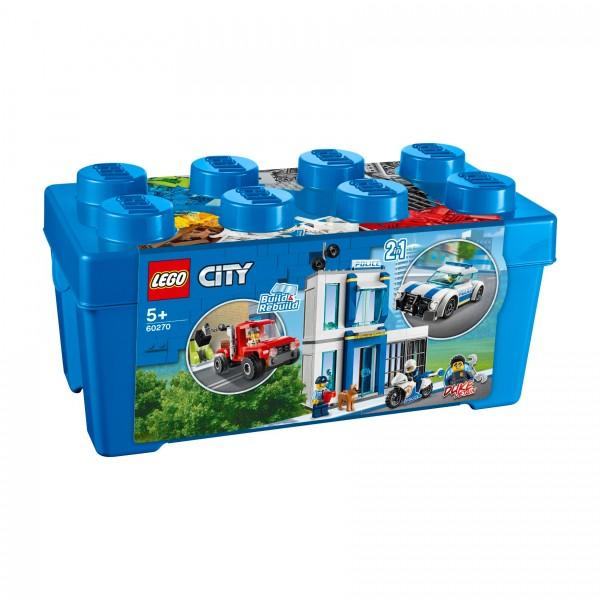 LEGO® CITY 60270 Polizei-Steinebox