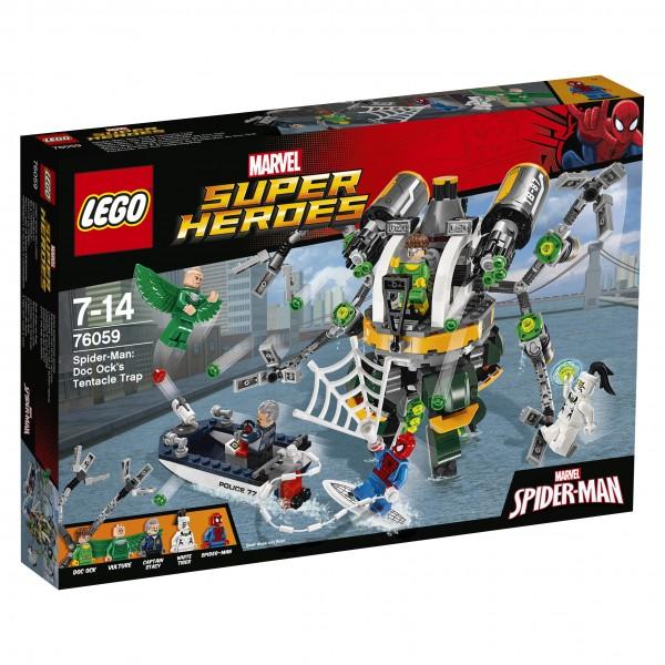 LEGO® Marvel Super Heroes 76059 Spider-Man: Doc Ocks Tentakelfalle