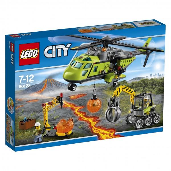 LEGO® CITY 60123 Vulkan-Versorgungshelikopter
