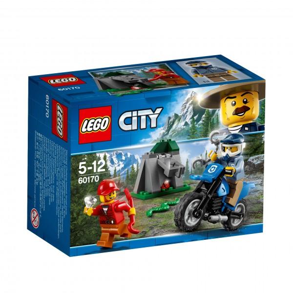 LEGO® CITY 60170 Offroad-Verfolgungsjagd