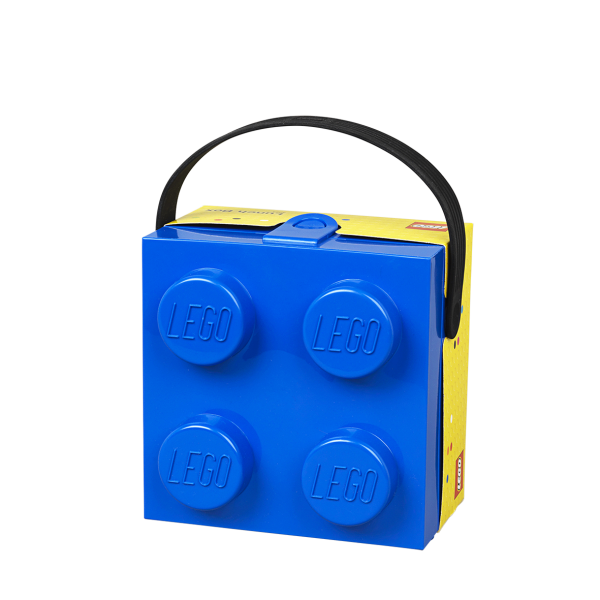 LEGO® 4024 Lunchbox mit Griff (blau/schwarz)