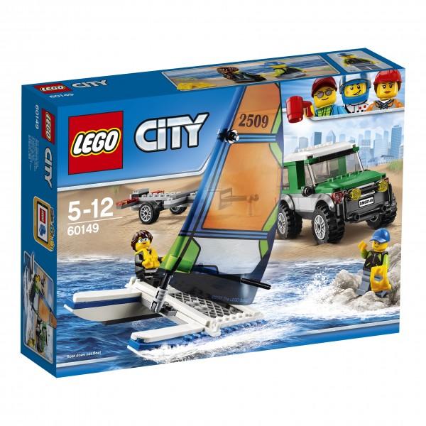 LEGO® CITY 60149 Geländewagen mit Katamaran