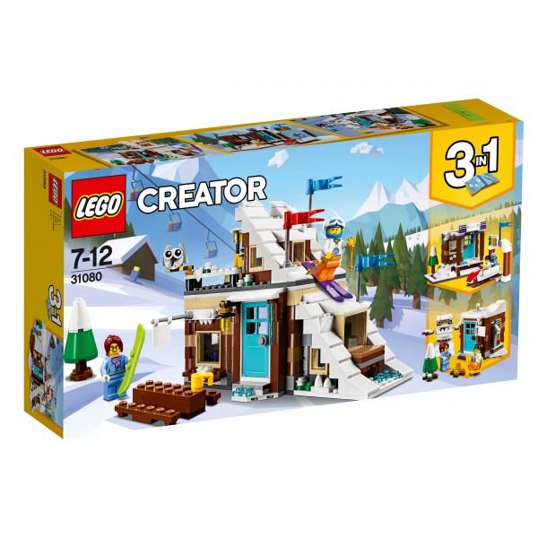LEGO® Creator 31080 Modulares Wintersportparadies