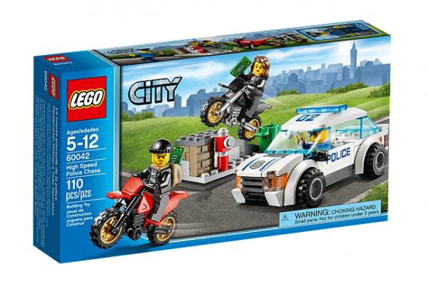 LEGO® CITY 60042 Polizei-Verfolgung