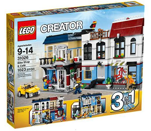 LEGO® Creator 31026 Fahrradladen & Cafe