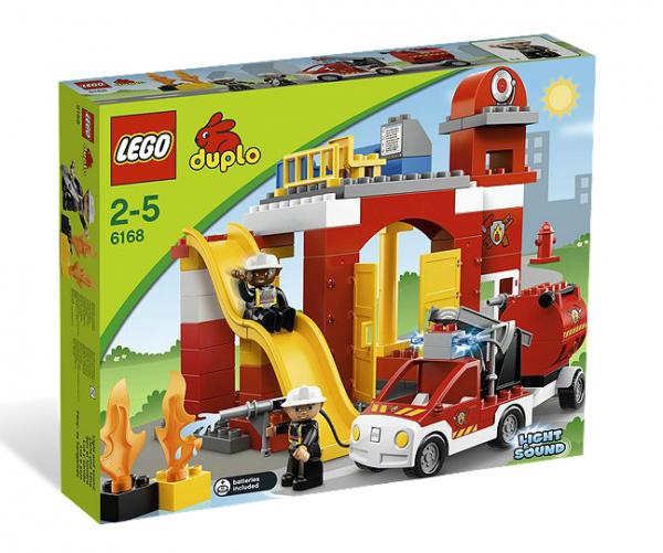 LEGO® DUPLO 6168 Feuerwehr-Hauptquartier