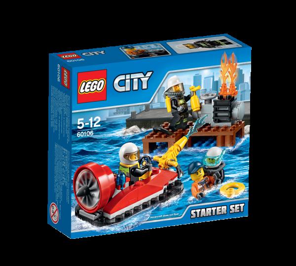 LEGO® CITY 60106 Feuerwehr-Starter-Set