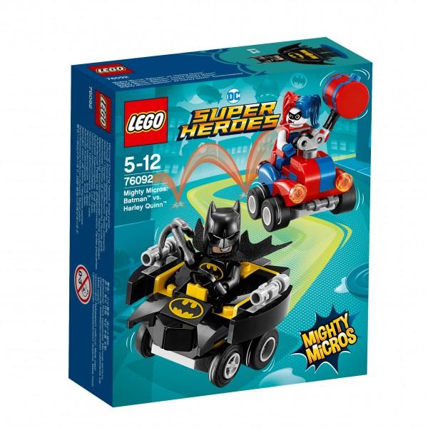 LEGO® DC Universe Super Heroes 76092 Mighty Micros: Batman vs. Harley Quinn