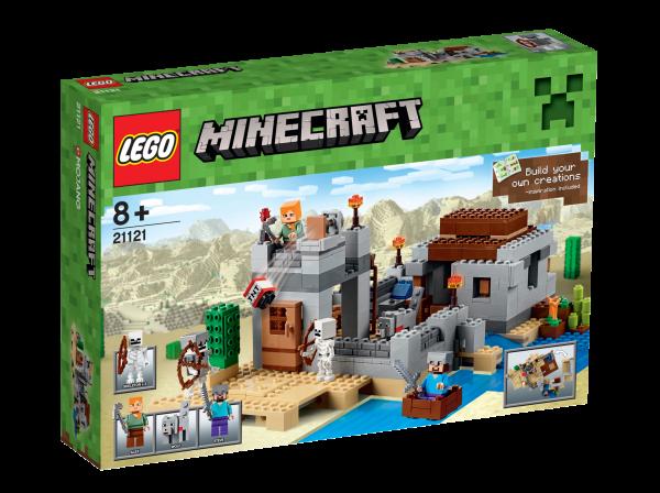 LEGO® Minecraft 21121 Der Wüstenaußenposten