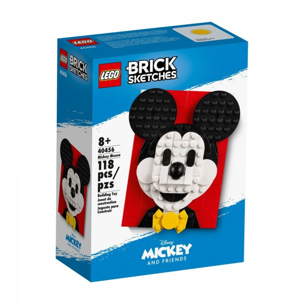 LEGO® Brick Sketches 40456 Micky Maus