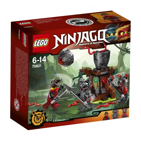 LEGO® Ninjago 70621 Vermillion Falle
