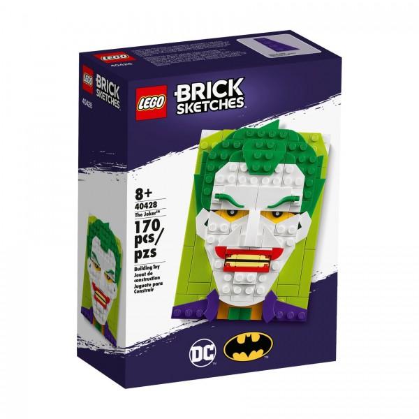 LEGO® Brick Sketches 40428 The Joker™