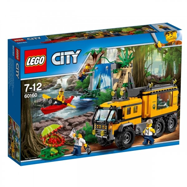 LEGO® CITY 60160 Mobiles Dschungel-Labor